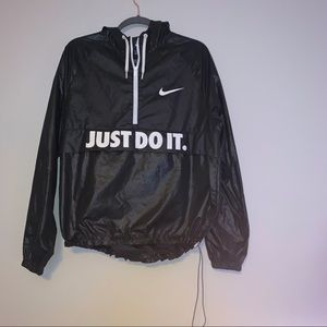 Nike half zip windbreaker